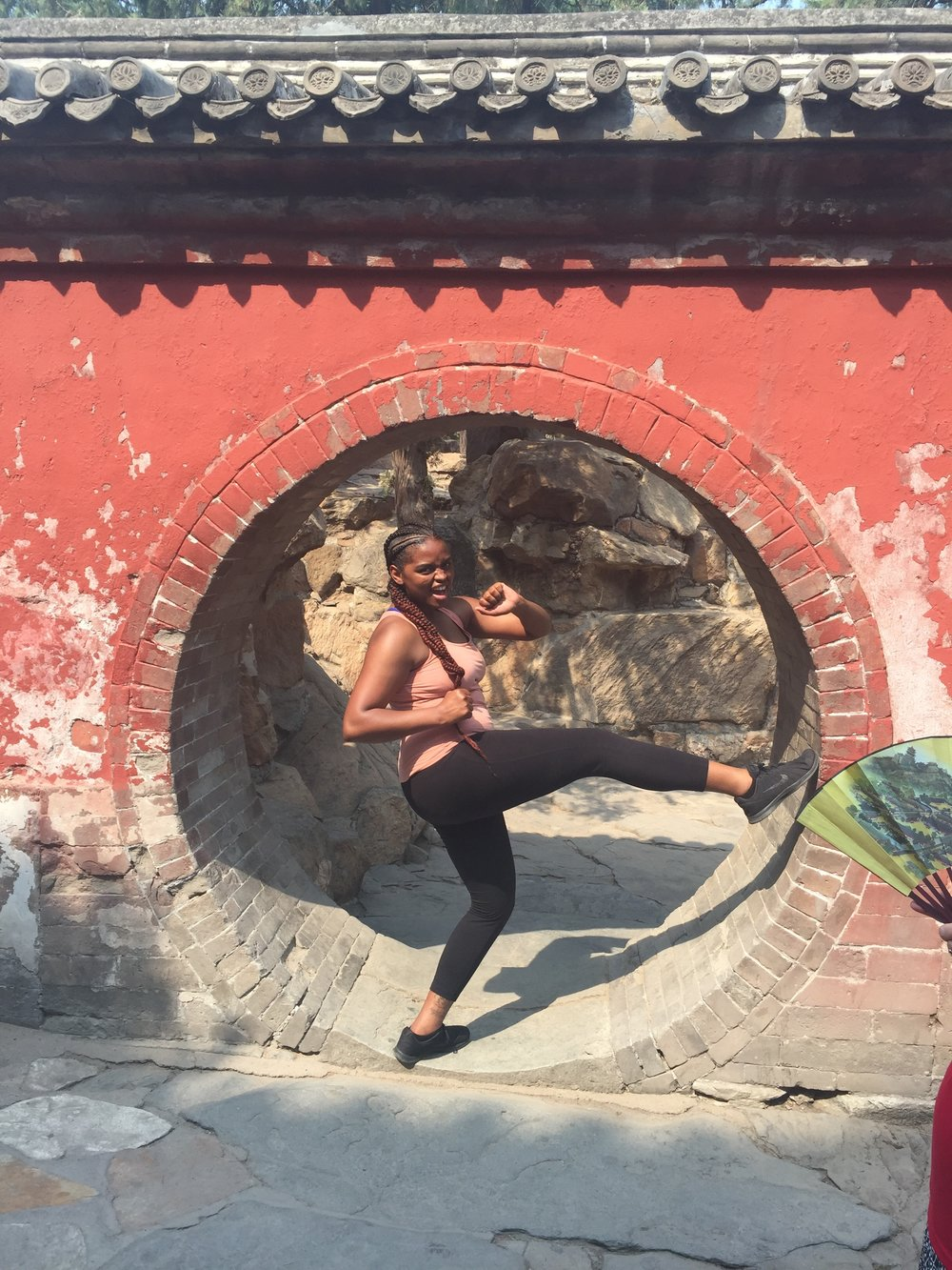 Shavonne ( @vonne_kaye ) is an author and the blog curator for All Things Inspiration. She enjoys traveling, fitness, movies and the arts. Pictured here at the historic Summer Palace in Beijing, China (May 19, 2017).
