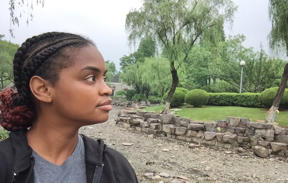 Shavonne ( @vonne_kaye ) is an author and the blog curator for All Things Inspiration. She enjoys traveling, fitness, movies and the arts. Pictured here in a Yuehu Park in Ningbo, China (May 24, 2017).
