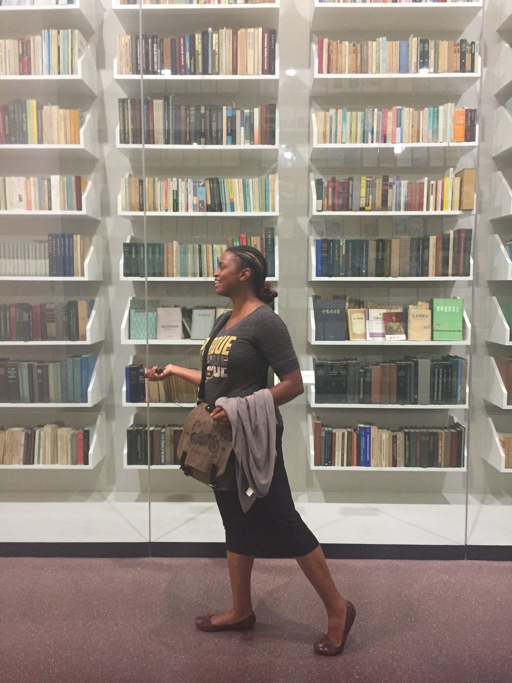 - Shavonne (@vonne_kaye) is an author and the blog curator for All Things Inspiration. She enjoys traveling, fitness, movies and the arts. Pictured here at a museum at Shanghai Jiao Tong University in Shanghai, China (May 26, 2017).