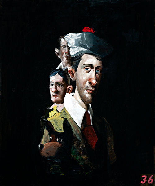 Plain Clothes, 2007, oil on canvas, 122 x 102cm