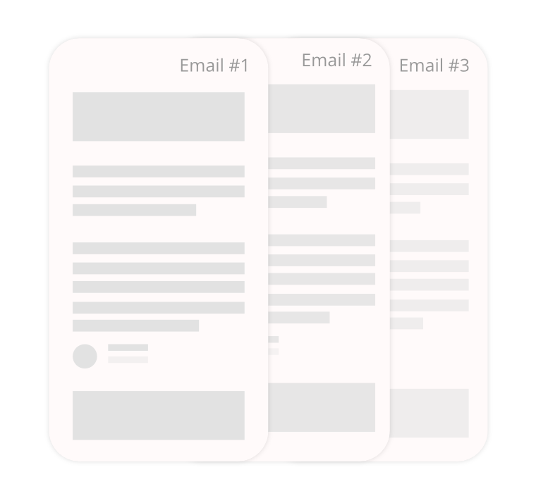 Create and save email templates