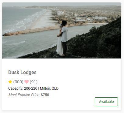 Portfolio listing