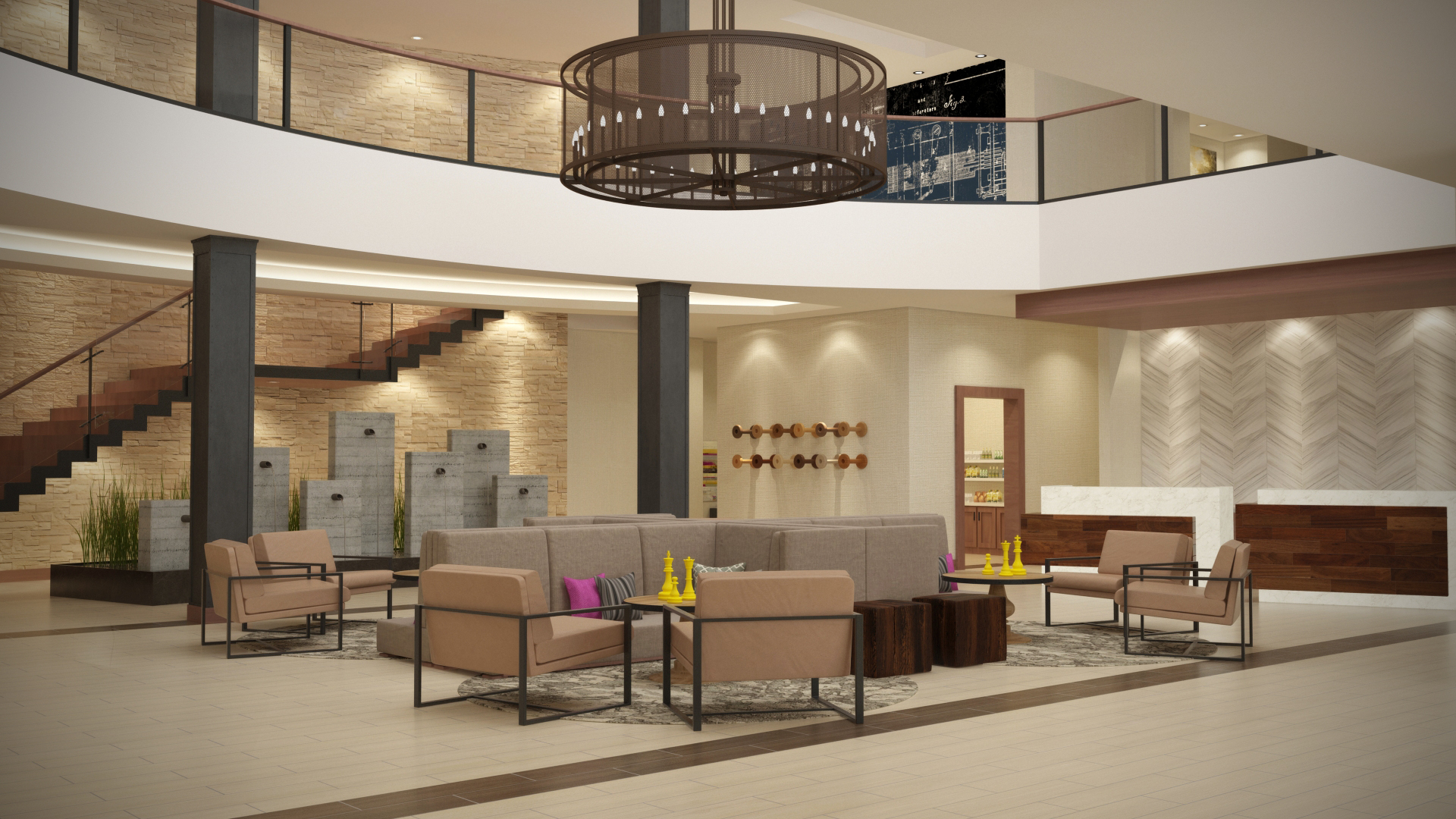 How To Design The Perfect Hotel Lobby Paradigm Design Group