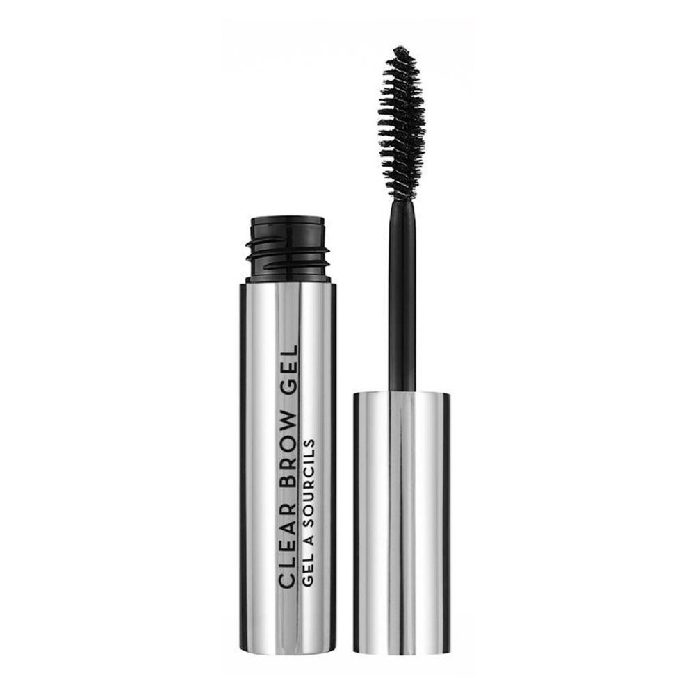 A long-wearing, invisible brush-on gel for all hair colors that sets, defines, and holds brows in place. Apply Clear Brow Gel in short upward strokes as a finishing topcoat, or alone, for a clean, polished look. Lightweight, flexible formula without residue Soothing chamomile formula conditions hair Can be used to smooth away fine hair growth along forehead