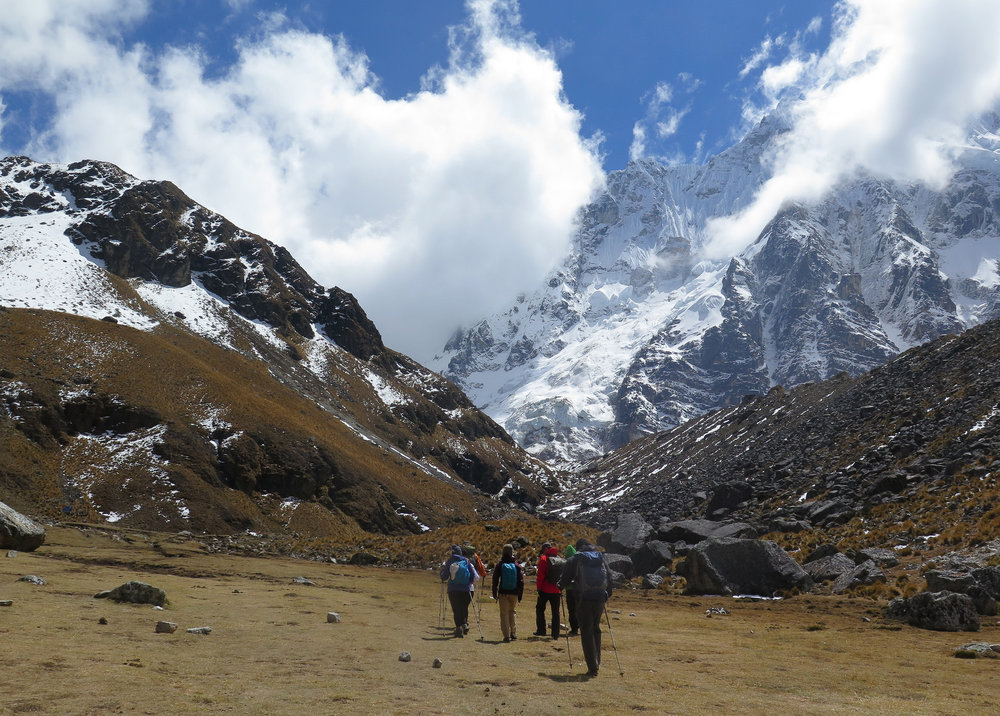 View from the Salkantay Trail. Photo by GLP Films