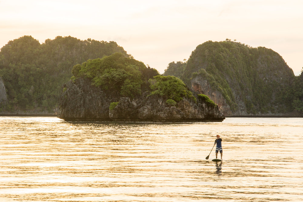 Paddleboarding in Raja Ampat | Indonesia Travel