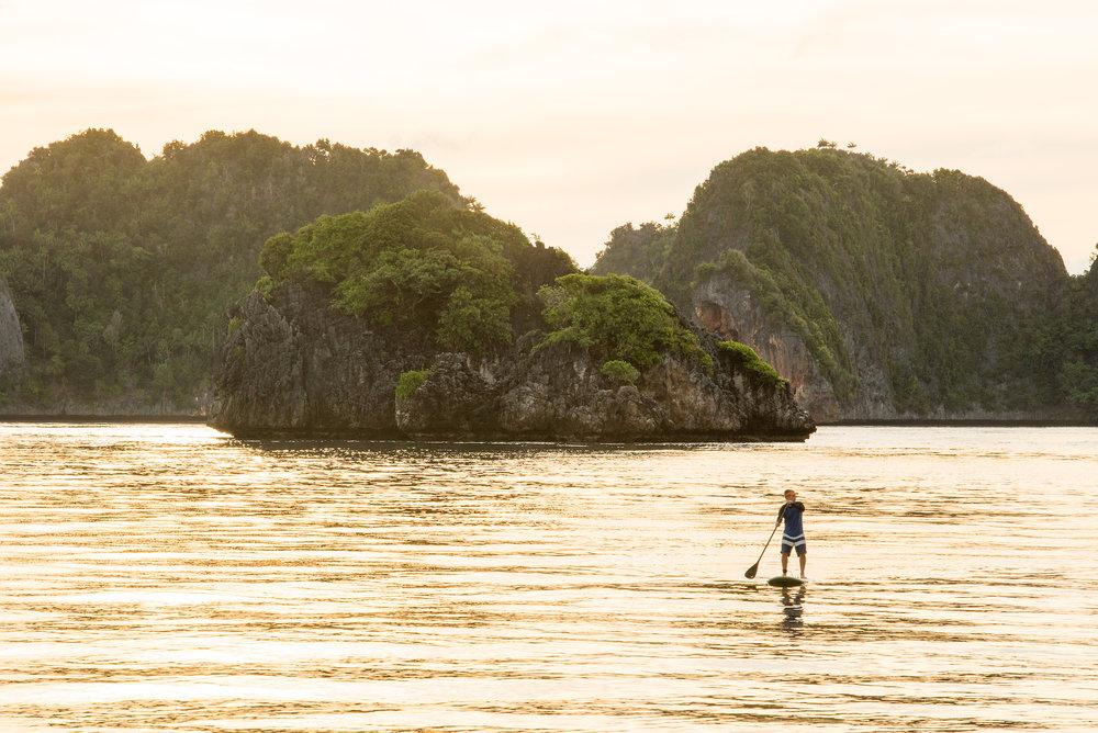 Paddleboarding in Raja Ampat | Indonesia Travel