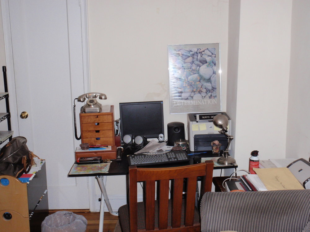 Here's my home office at 74 West 68th ST.