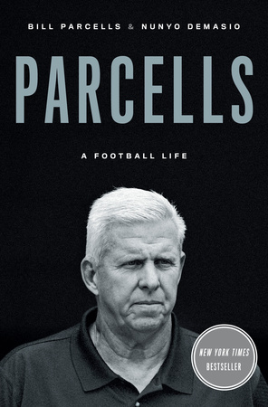 Donald Trump , Warren Buffett and Al Pacino are among the cameos in Bill Parcells's authorized biography.
