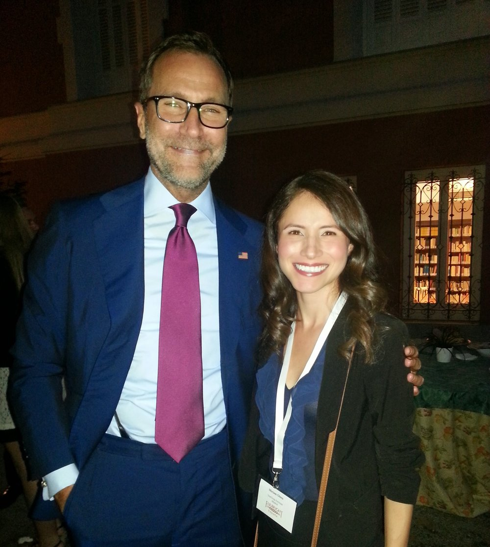 U.S. Ambassador James Costos