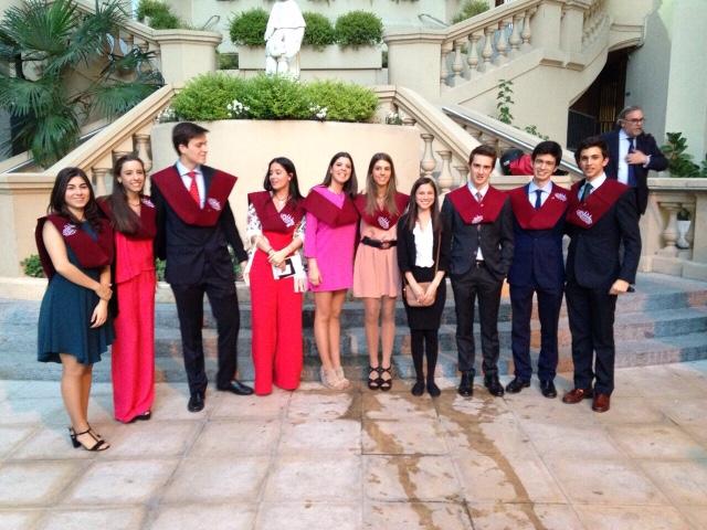 2015 Colegio Jesús-María grads :)
