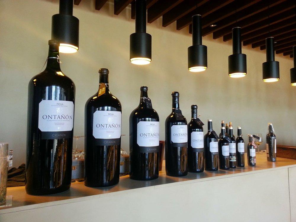Wine tasting in the wine region of La Rioja, Spain