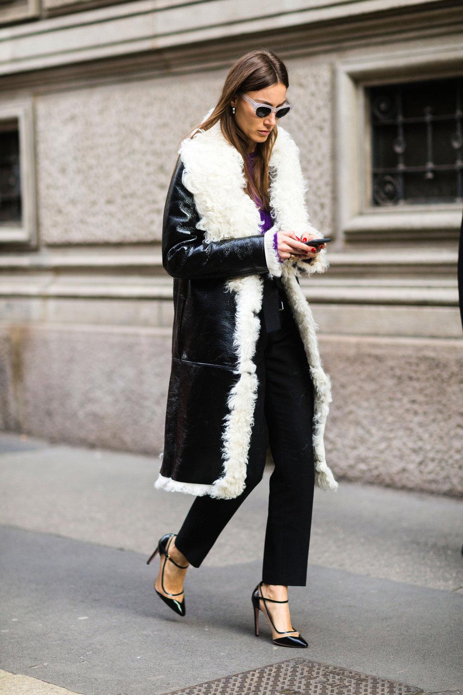 Shearling Coats -
