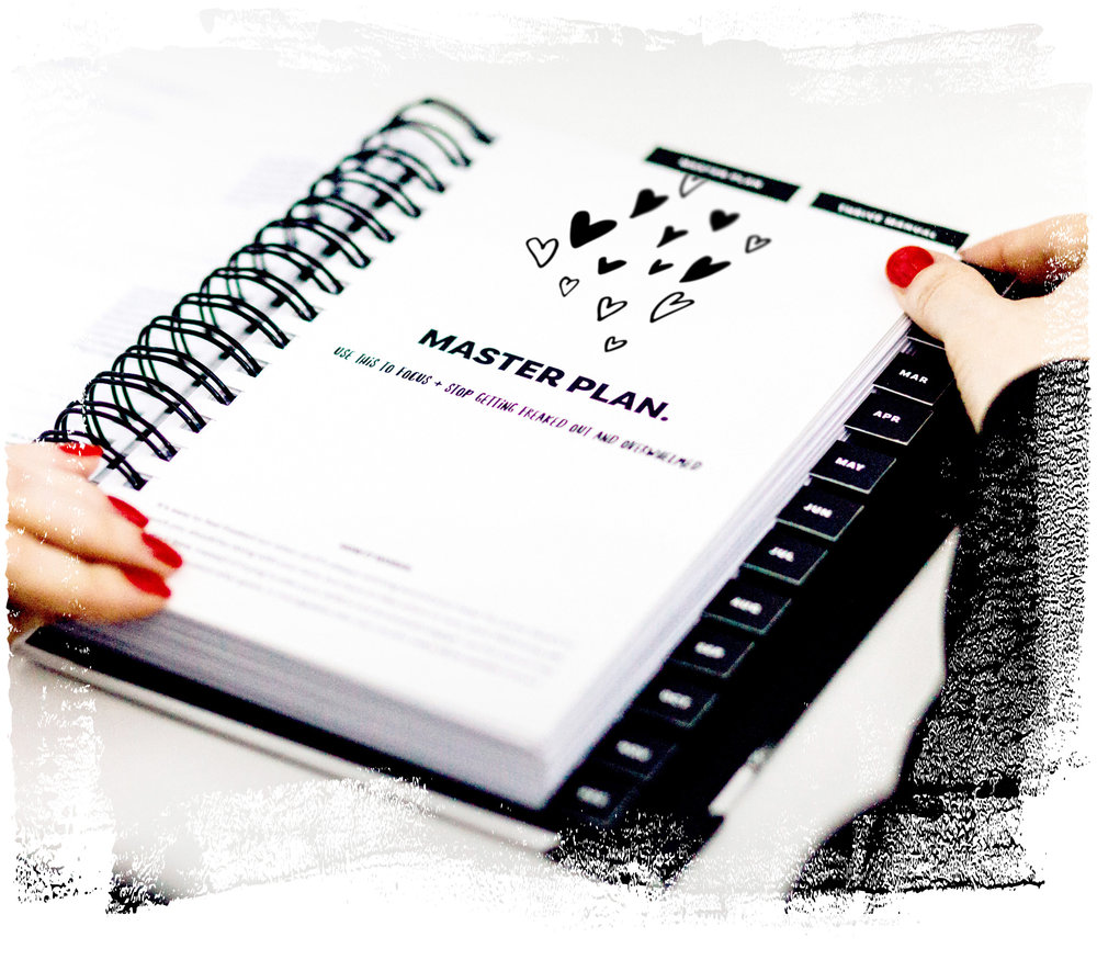 The Imperfect Life® Planner – master plan