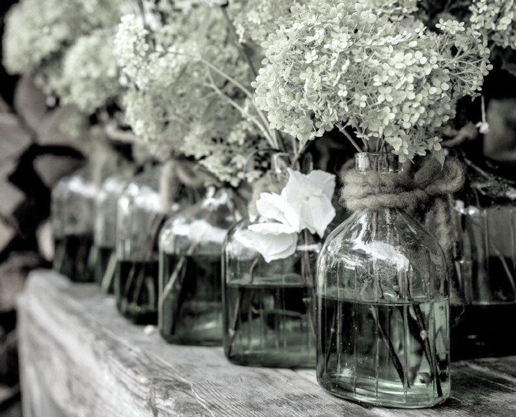 Green flowers green vase.jpg