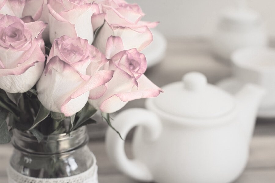 Pink roses white tea pot.jpg