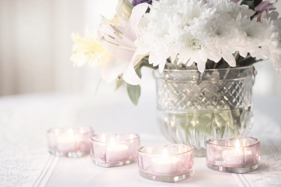 candle pink flowers.jpg