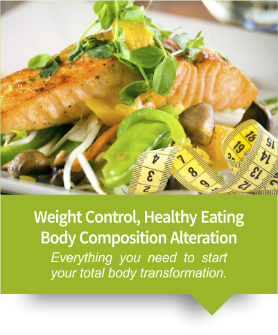 Weight Control, Healthy Eating, Body Composition Alteration.