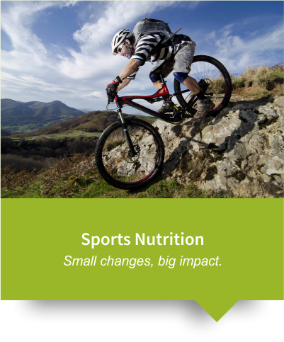 Nutrition plans for Sports People
