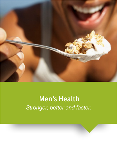 Healthy Nutrition for Men living in the Helderberg