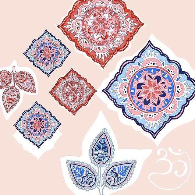 Indian motifs ✨🎨