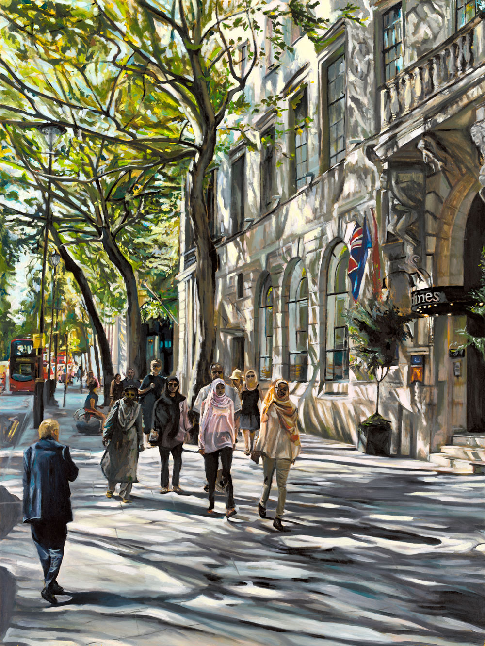 NORTHUMBERLAND AVENUE   2014 | oil on canvas | 90x120cm  SOLD (Limited edition prints available)