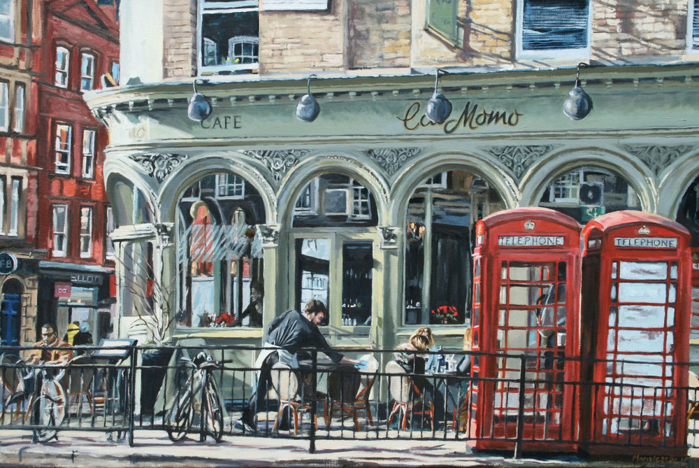WAITING TABLE   2015 | oil on linen | 60x90cm  SOLD