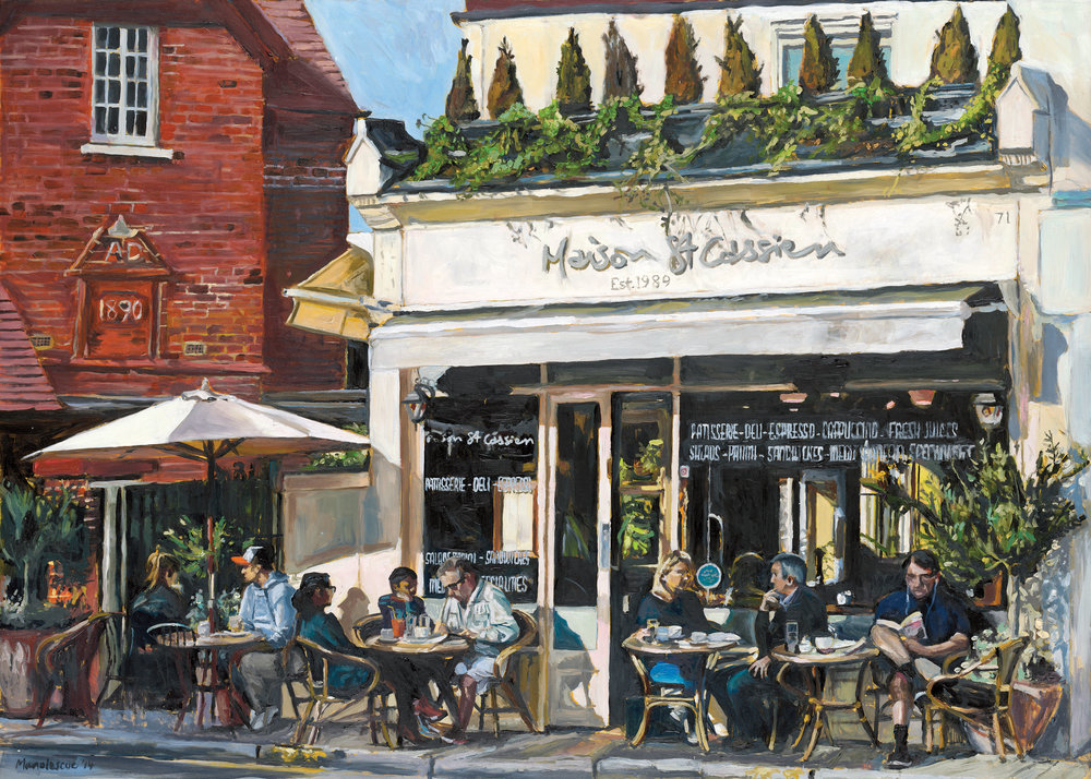 MAISON ST CASSIEN   2014 | oil on board | 50x70cm  SOLD (original)  Limited edition prints are available /10