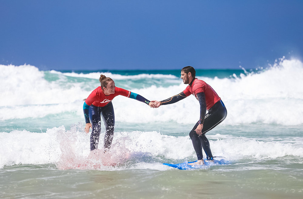 Student Surf Trips - Surf Lesson