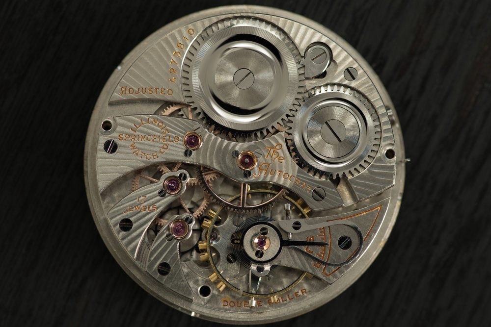 The Autocrat movement used in the first Arcane watches.