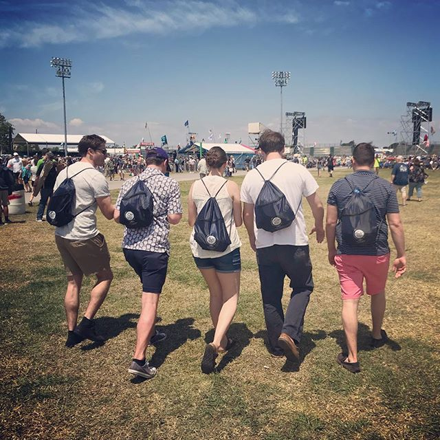 Repping that #thewayfarershandbook at #jazzfest - - - - #thewayfarershandbook #travel #book #jazzfest