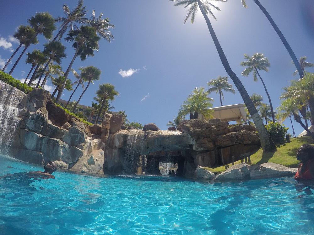 Pool at Westin Maui Resort and Spa