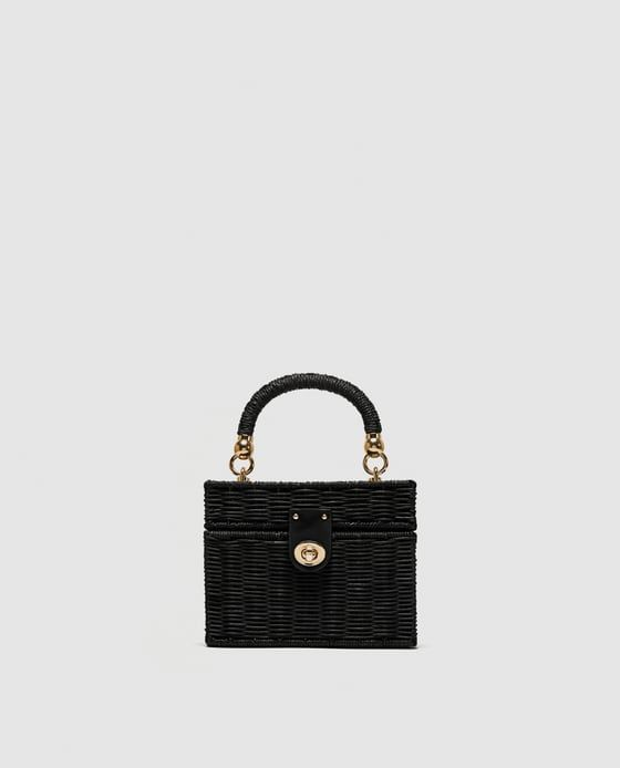 Black Zara Basket Bag.jpg