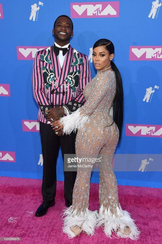 Gucci Mane and Keyshia Ka'Oir at the 2018 VMAs