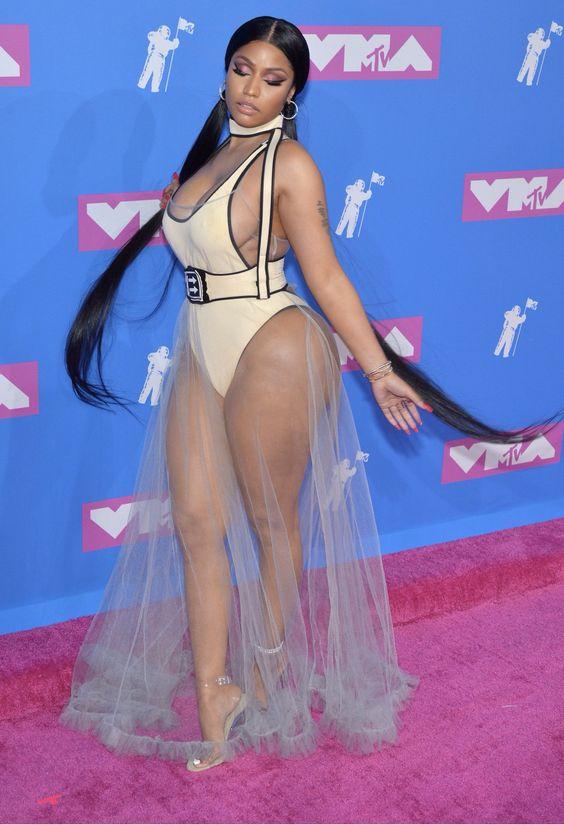 Nicki Minaj at the 2018 VMAs