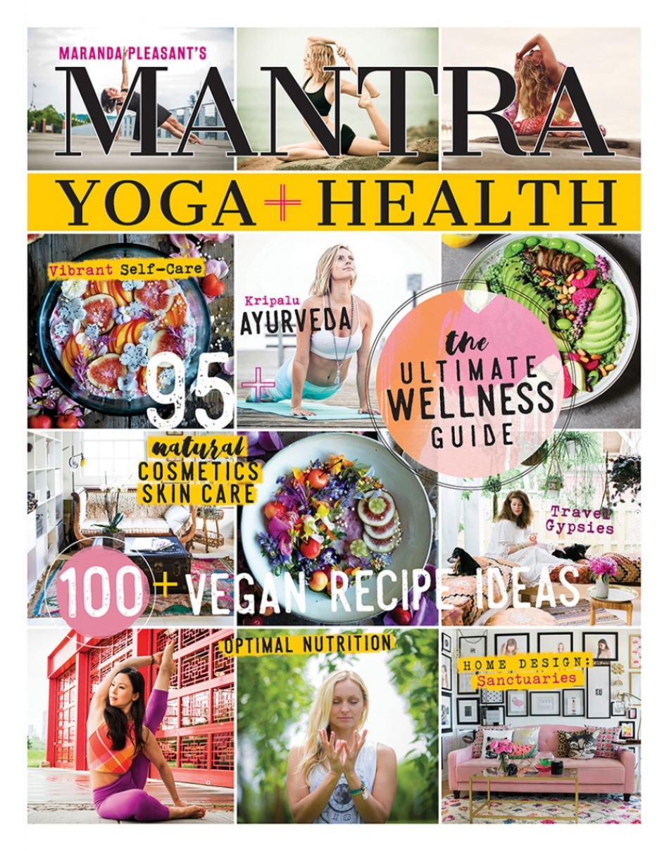 Mantra yoga + health magazine