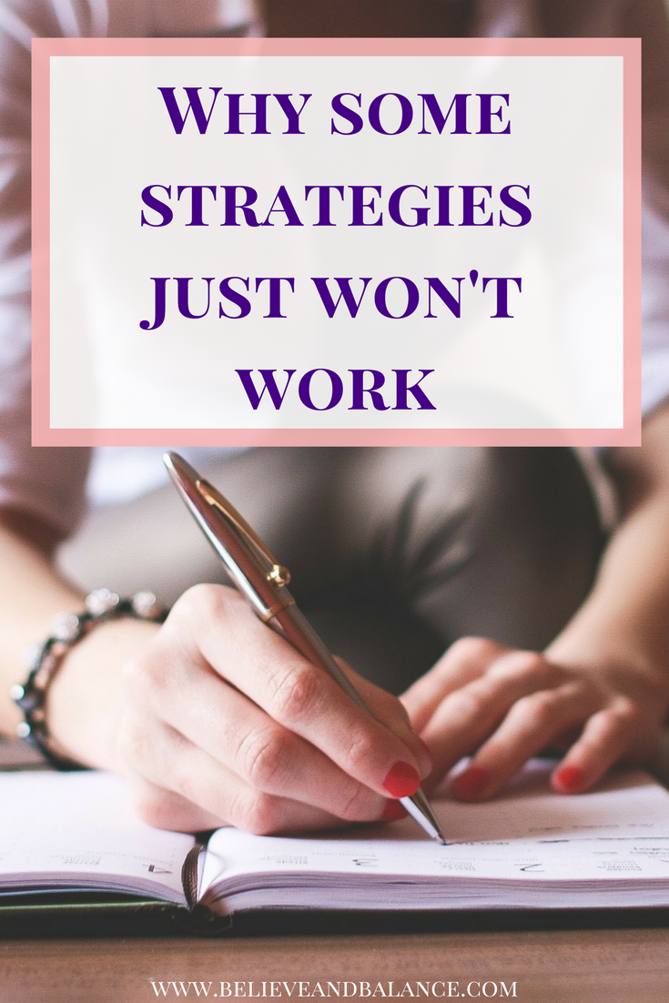 Why Some Strategies Just Wont Work