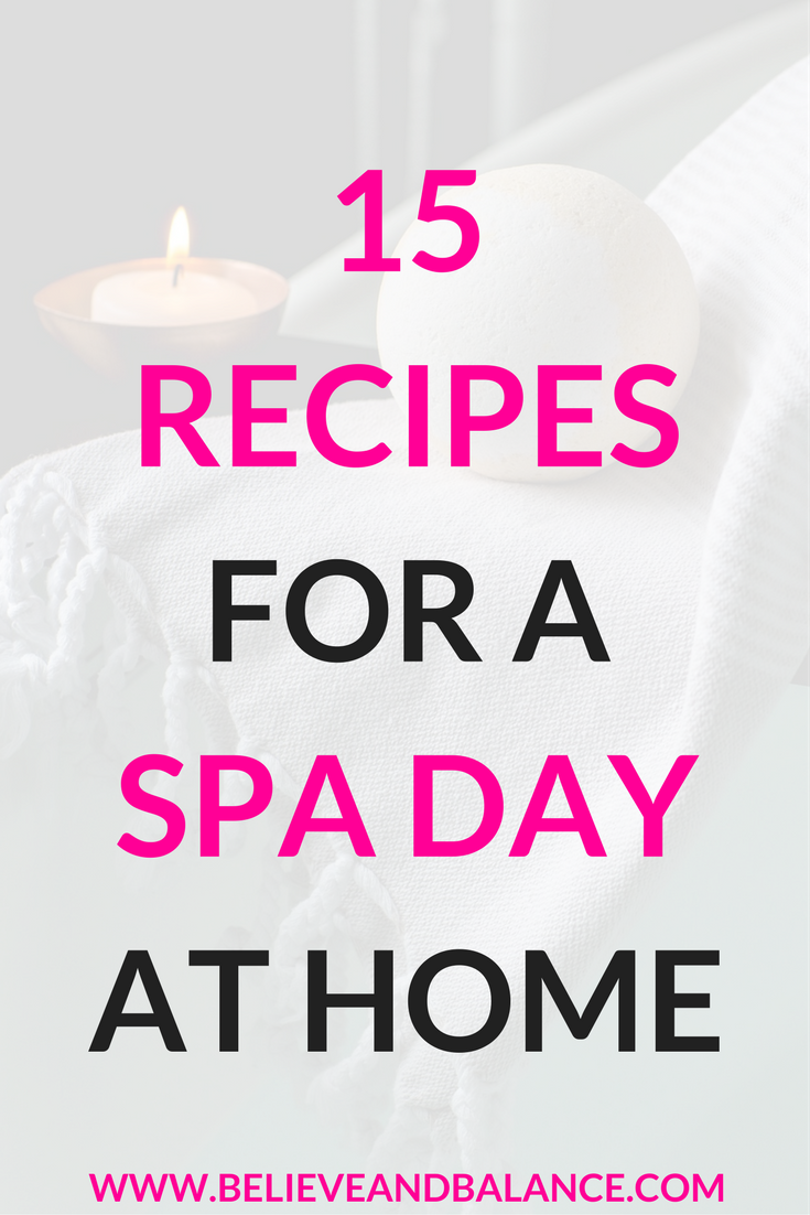 15 Recipes For A Spa Day At Home.png