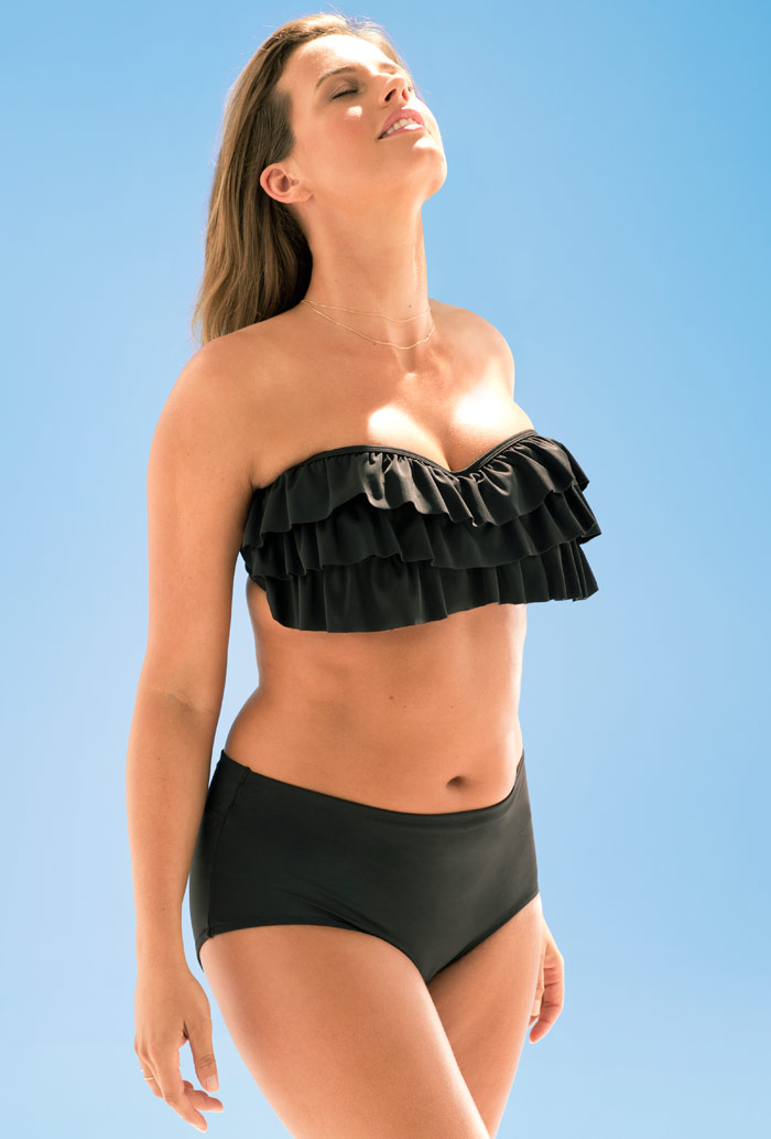 Heartthrob Black Underwire Bikini