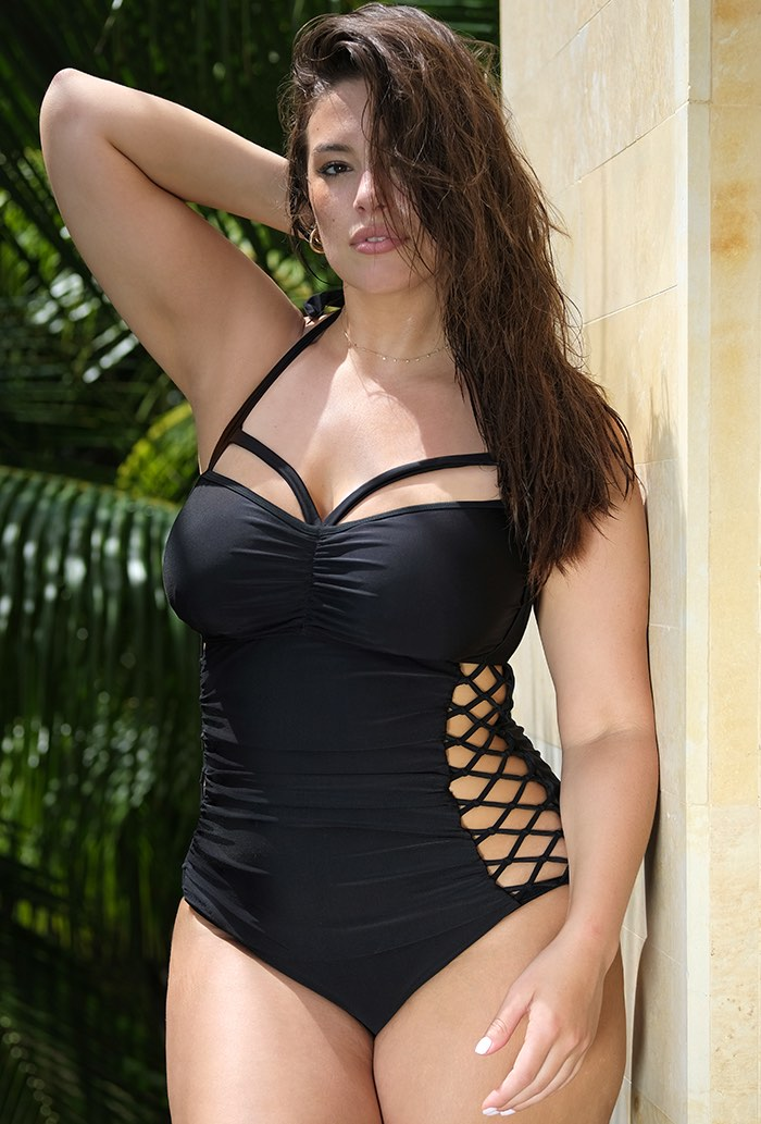 Ashley Graham x Swimsuits For All Boss Underwire Swimsuit