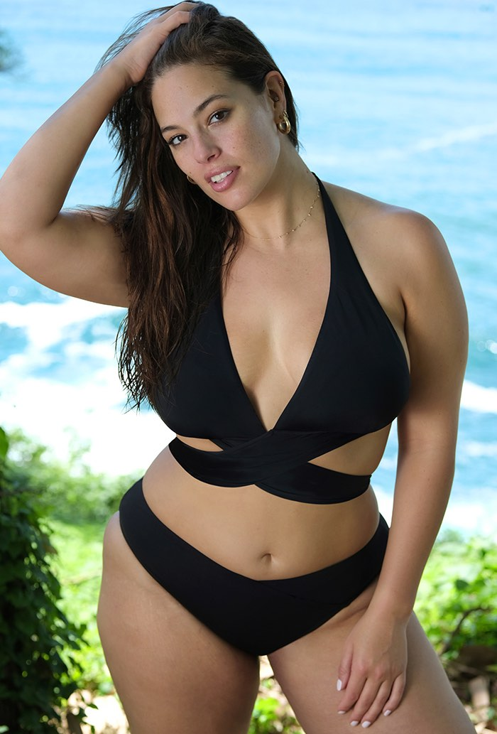 Ashley Graham x Swimsuits For All Ambassador Bikini