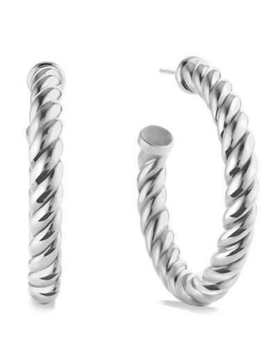 David Yurman Cable Classics Hoop Earrings
