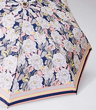 Loft Border Floral Umbrella