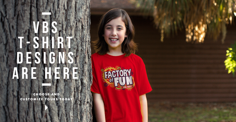 Vacation Bible School T-shirt Designs 2017 VBS