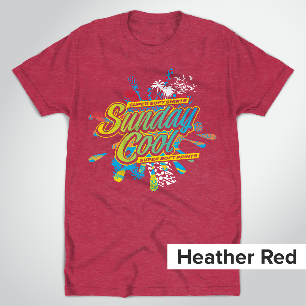 Tultex 202 Heather Red