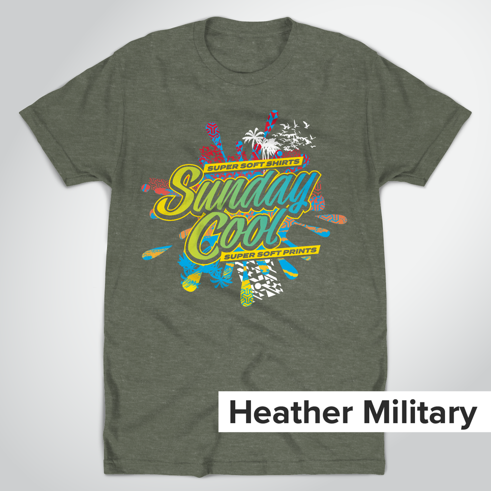 Super Soft Heather Military Green