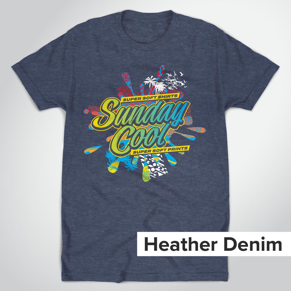 Super Soft Heather Denim