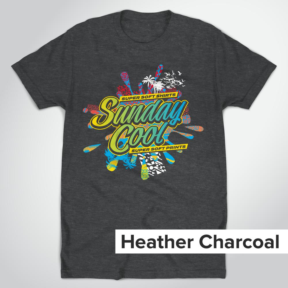 Super Soft Heather Charcoal