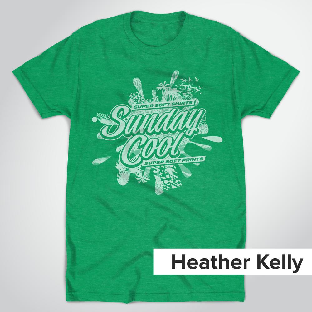 Tultex 202 Heather Kelly