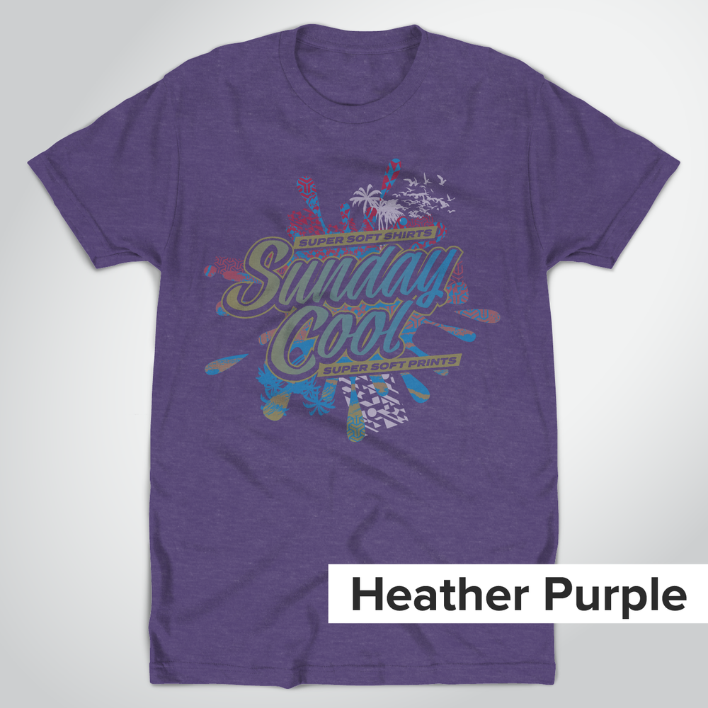 Tultex 202 Heather Purple